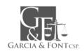 García & Font, CSP.