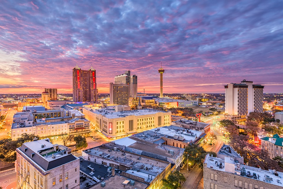 Top cities for grads - San Antonio, TX