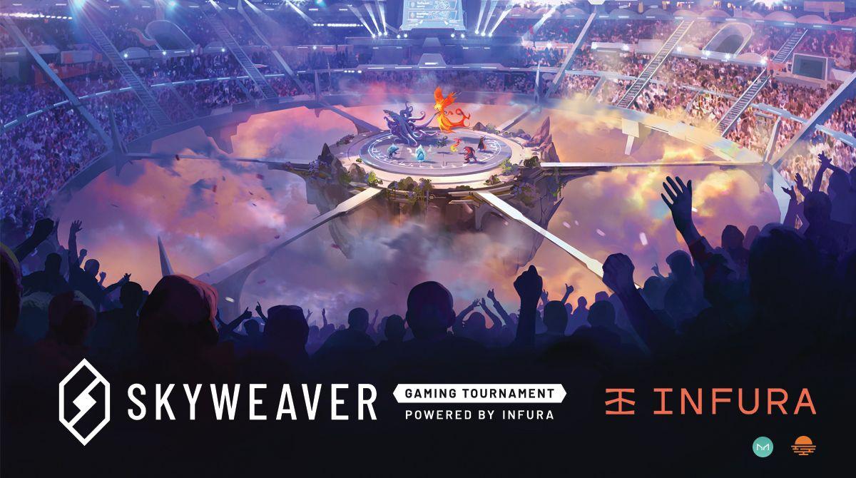 SkyWeaver Gaming Tournament Powered by Infura