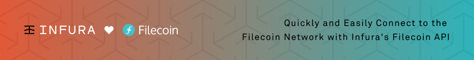 Infura Filecoin Network API - Your Connection to the Filecoin Network