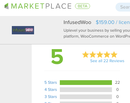InfusedWoo Review 5 Star