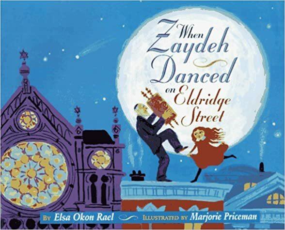 "<p>Elsa Okon Rael, <a href=""https://www.google.com/books/edition/When_Zaydeh_Danced_on_Eldridge_Street/dZdlQgAACAAJ?hl=en""><em>When Zaydeh Danced on Eldridge Street</em></a> (Simon <span class=""amp"">&amp;</span>&nbsp;Schuster,<span class=""numbers"">1997</span>).</p>"