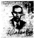 <table><colgroup><col></colgroup><tbody><tr><td><p>Abraham Bick as a young man (as depicted in Kol ha-Am, August 06,&nbsp;1948)</p></td></tr></tbody></table>