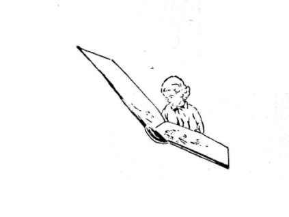 <p>Illustration from Zishe Bagish, <em>In kinderland lider</em> (Varshe: Kinder fraynd,&nbsp;1938).</p><section></section>