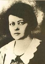 <p>Deborah Vogel (Dvoyre Fogel) (1902 –1942)</p>