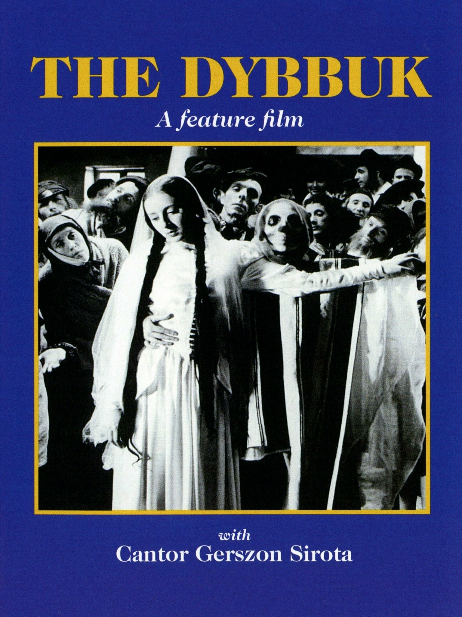 """<p>Cover image for the <span class=""""caps"""">VHS</span> / <span class=""""caps"""">DVD</span> re-release of the <span class=""""numbers"""">1937</span> film version of <em>The Dybbuk</em>, featuring the Dance of Death&nbsp;scene.</p>"""
