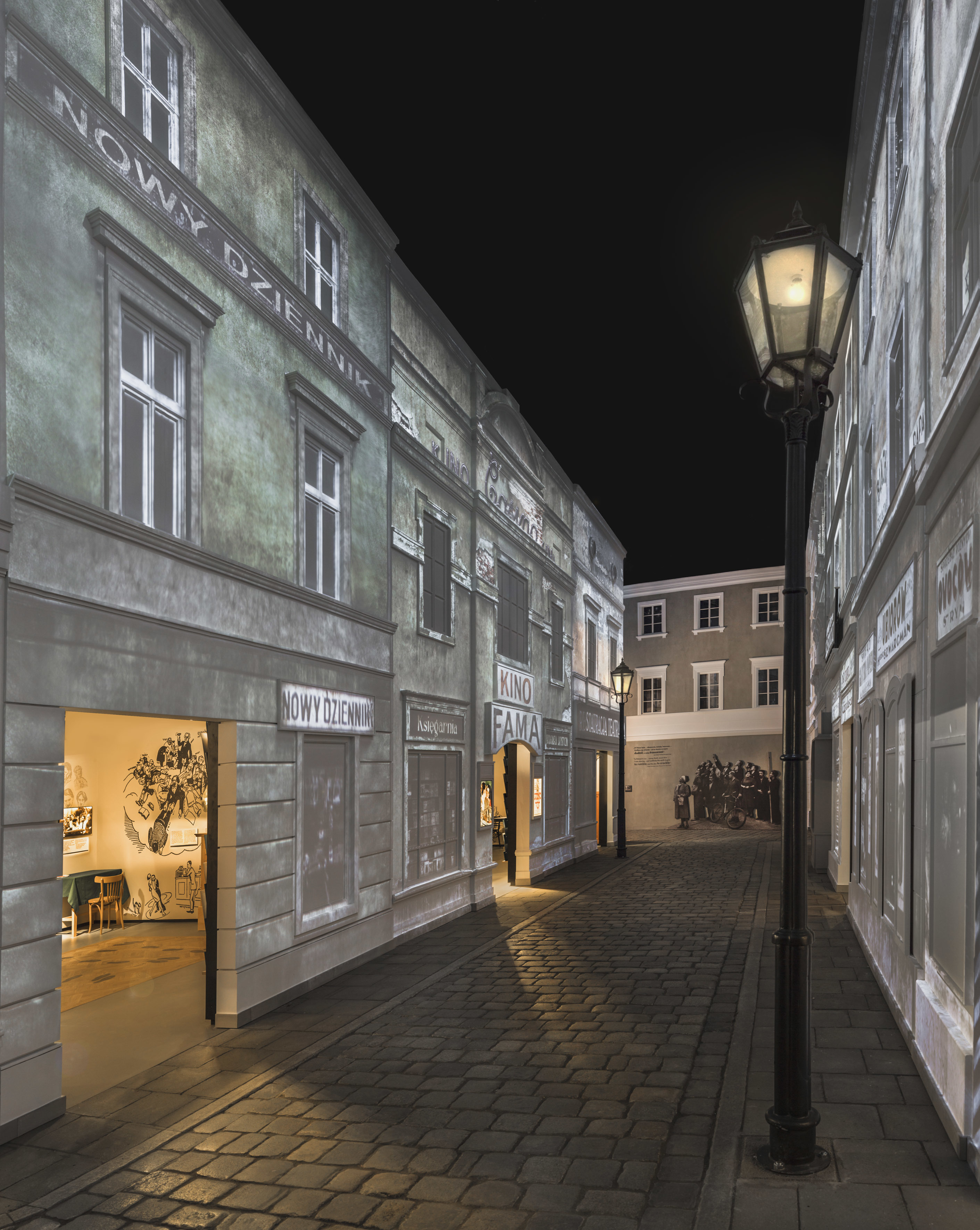 "<p><span class=""dquo"">""</span>On the Jewish Street"" Gallery. M. Starowieyska D. Golik / <span class=""caps"">POLIN</span> Museum of the History of Polish&nbsp;Jews</p>"