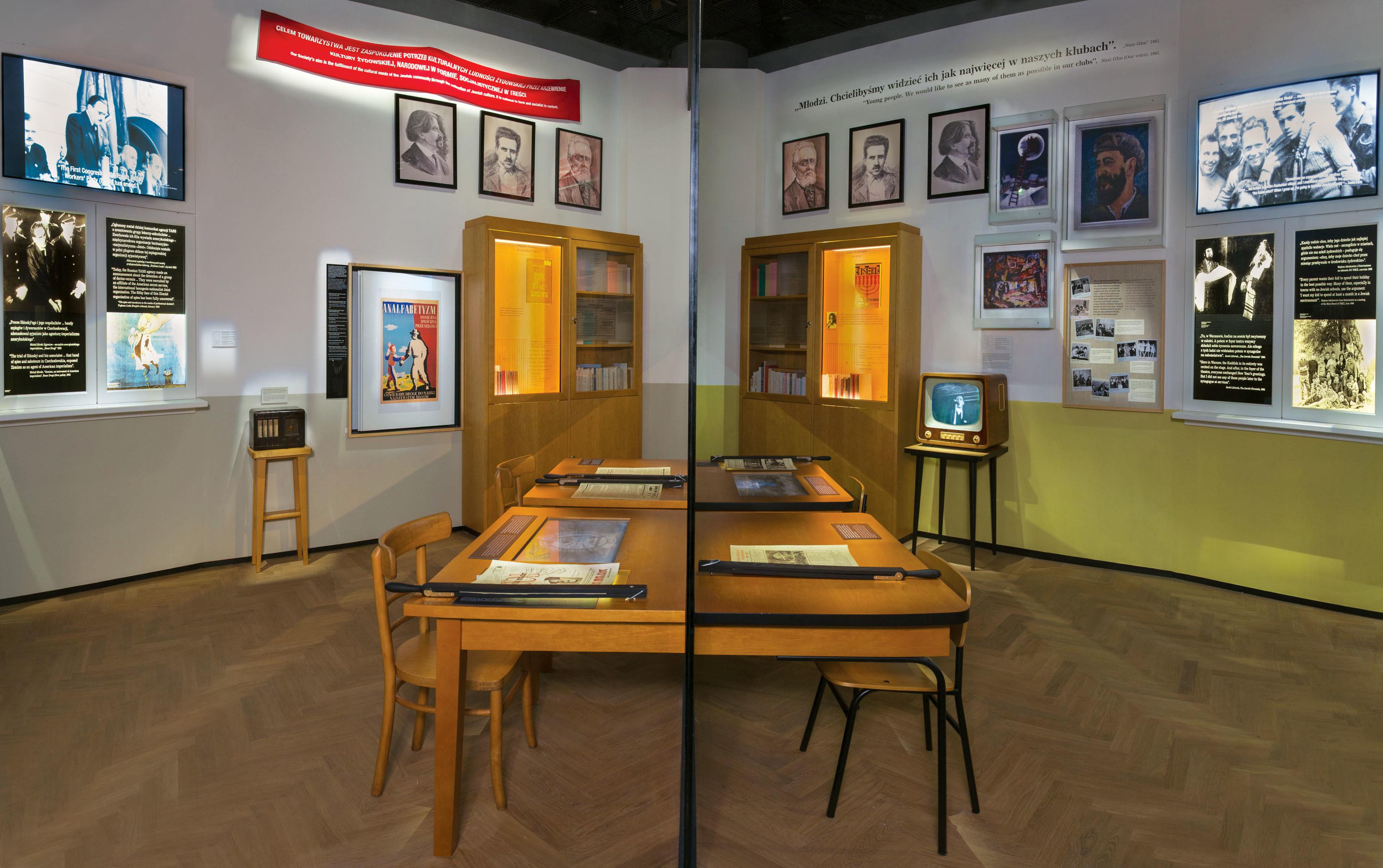 "<p>Postwar Years Gallery. M. Starowieyska D. Golik / <span class=""caps"">POLIN</span> Museum of the History of Polish&nbsp;Jews</p>"