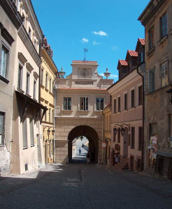 "<p>The Grodz­ka Gate Cen­ter in Lublin. Pho­to via the cen­ter's <a href=""https://teatrnn.pl/node/78/the_grodzka_gate_%E2%80%93_nn_theatre_centre"">web­site</a>.</p>"