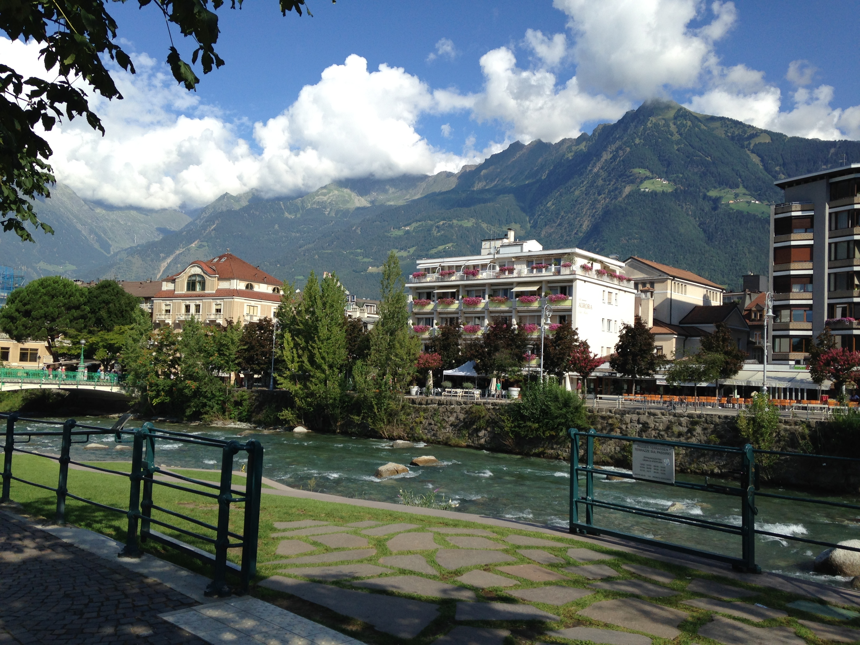 <p>Merano, relaxing just to look at! Courtesy Sunny&nbsp;Yudkoff</p>
