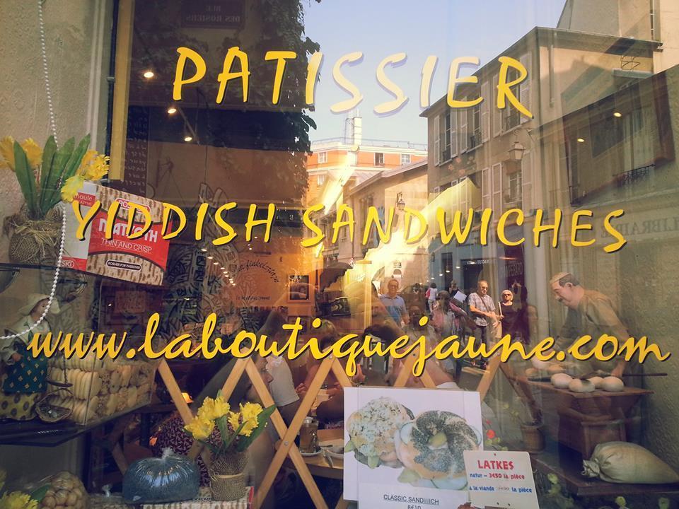 <p> Sacha Finkelsztajn's restaurant, Paris, 2014. Photo credit: Saul&nbsp;Zaritt</p>