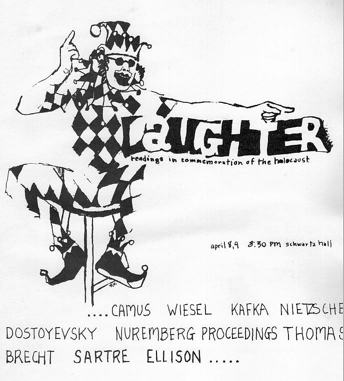 <p>Poster for <em>Laughter, </em>1968</p>