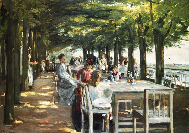 <p><i>Restaurant Terrace in Nienstedten</i>,&nbsp;1902</p>