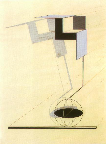 "<p>El Lissitzky, <em>Proun</em>, circa <span class=""numbers"">1923</span>, Busch-Reisinger Museum, <a href=""http://www.ibiblio.org/eldritch/el/elc.html"">via</a></p>"