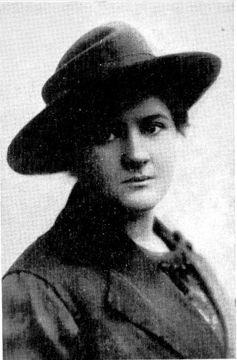 """<p>Rosa Nevadovska, portrait from her poetry collection <em>Lider mayne</em> (Tel Aviv: Y. L. Perets,&nbsp;<span class=""""numbers"""">1974</span>).</p>"""