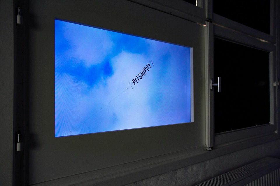"<p>Video still from Elian­na Renner's exhib­it <span class=""push-double""></span>​<span class=""pull-double"">""</span>Pit­shipoy"" at alpha nova <span class=""amp"">&amp;</span>&nbsp;galerie futu­ra, Berlin. Pho­to by Ceren&nbsp;Saner.</p>"