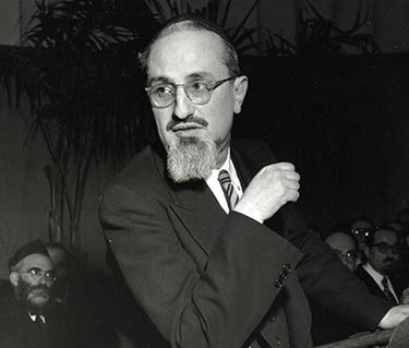 <p>Rabbi Joseph B. Soloveitchik, image via the Orthodox&nbsp;Union</p>