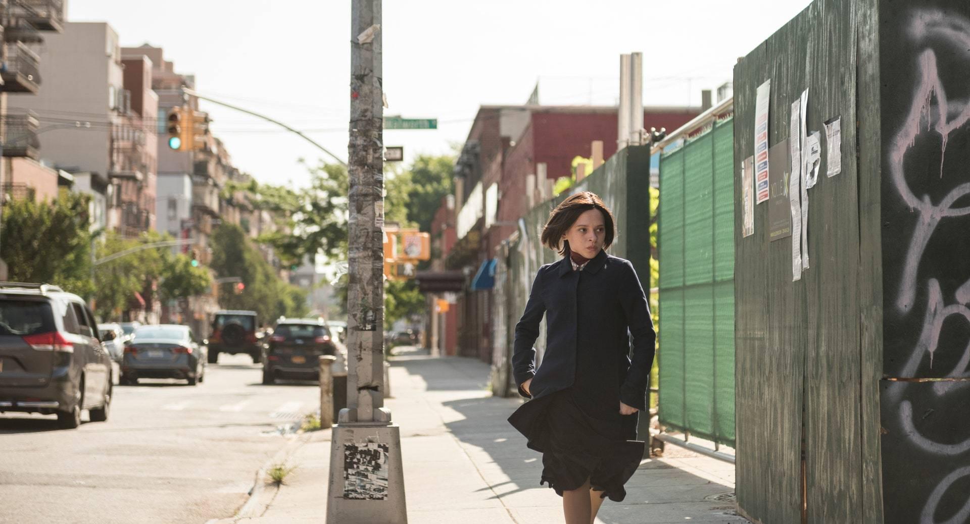 <p>Esty leaving Williamsburg. Anika Molnar/Netflix</p>
