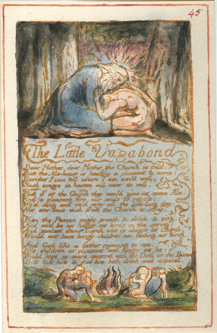 <p>William Blake, &#8220;The Little Vagabond,&#8221;&nbsp;1794.</p>