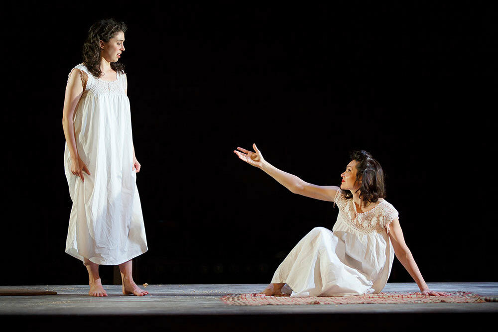 "<p><a href=""http://indecentbroadway.com""></a></p><p>Actor Kat­ri­na Lenk as Manke (right) reach­ing out to actor Adi­na Ver­son as Rifkele (left) as their inti­ma­cy esca­lates dur­ing the rain scene of <i>Inde­cent</i> Pho­to: Car­ol Rosegg via <a href=""http://indecentbroadway.com/"" target=""_blank"" data-saferedirecturl=""https://www.google.com/url?hl=en&amp;q=http://IndecentBroadway.com&amp;source=gmail&amp;ust=1512399453501000&amp;usg=AFQjCNEGpfkszUOQuyNkIddOpSf3wBWxfg"">Inde​cent​Broad​way​.com</a>.</p>"