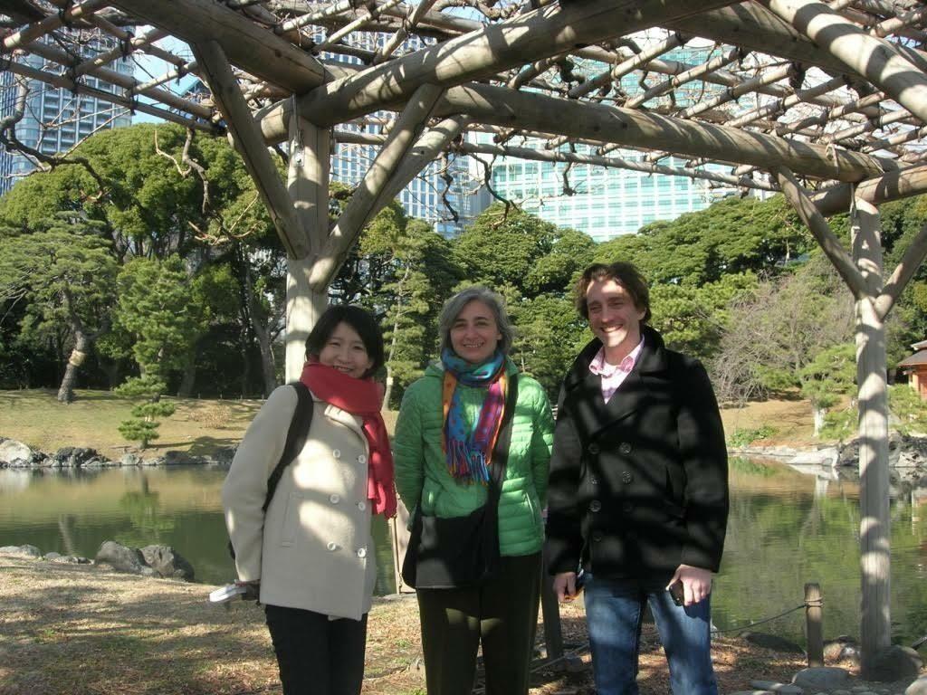 <p>Yuu Nishimura, Cecile Kuznitz, and Kalman&nbsp;Weiser</p>