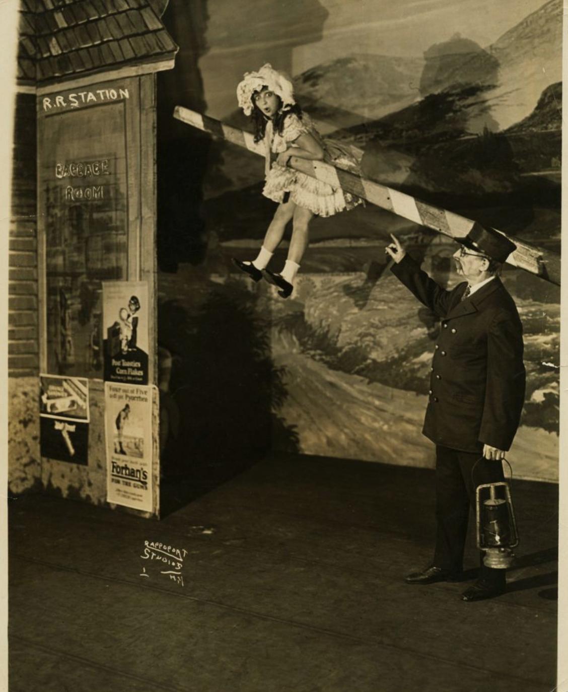 <p>Molly Picon in Circus Girl,&nbsp;1928</p>