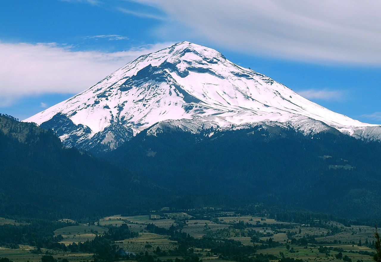 <p>Popocatépetl, home of the&nbsp;world-translator. </p>