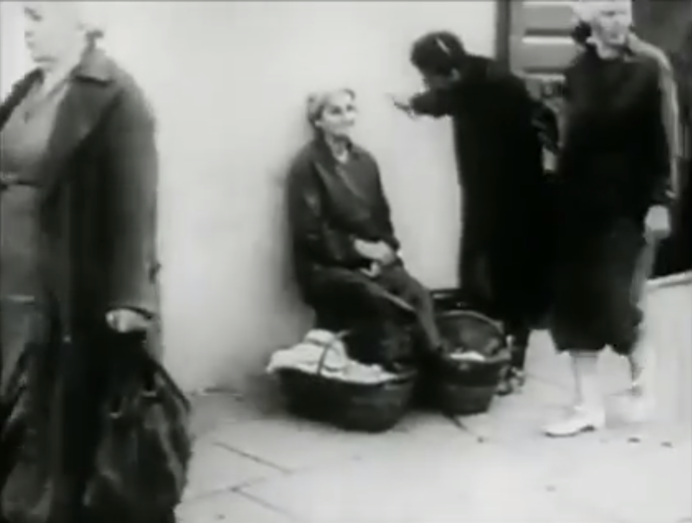"""<p>Still from <em>Wilno</em>, one of the <span class=""""push-double""""></span><span class=""""pull-double"""">""""</span>Six Cities"""" films directed by Shaul and Yitzchok Goskind in&nbsp;<span class=""""numbers"""">1939</span>.</p>"""