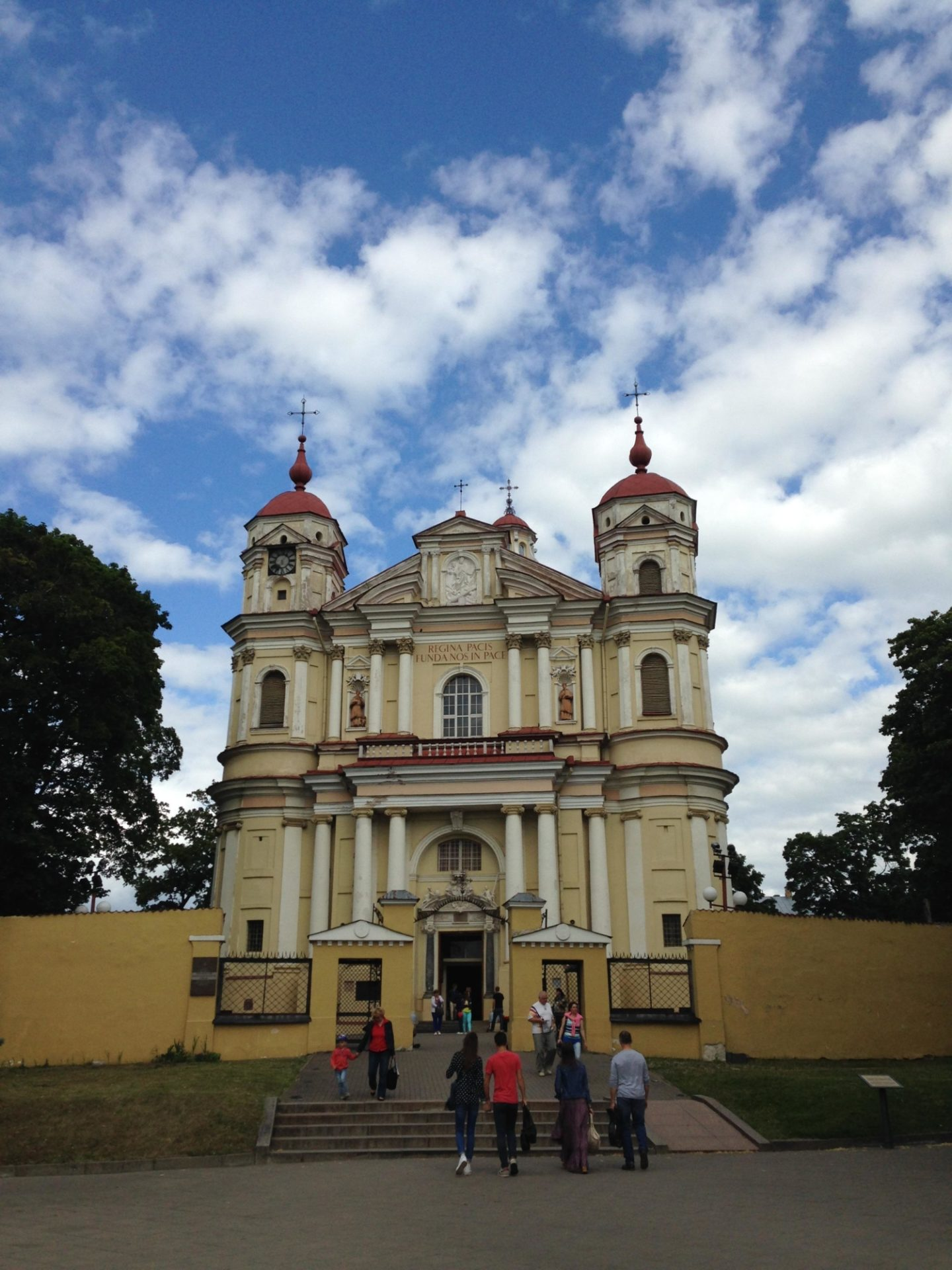 <p>The Church of Saints Peter and Paul<em> </em>in Vilnius where St. Paul&#8217;s Monastery once stood. Photo credit: Madeleine&nbsp;Cohen.</p>