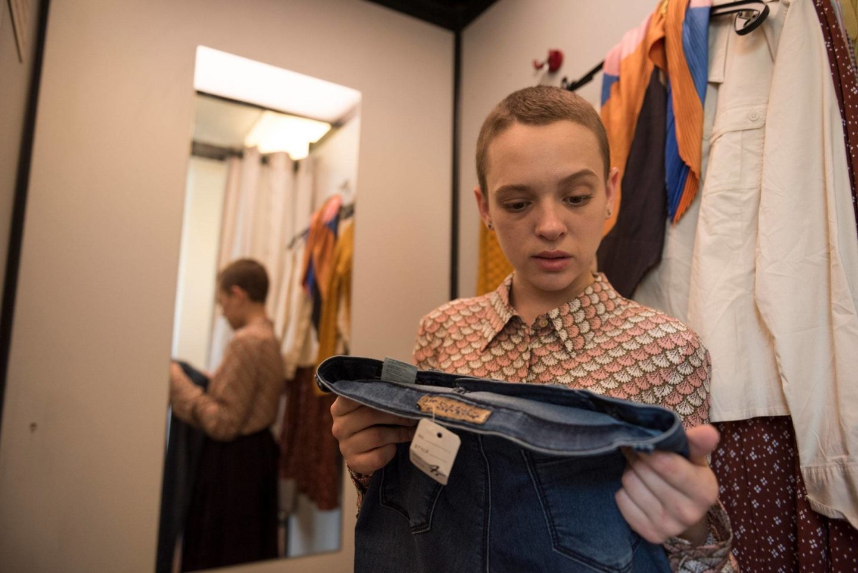 <p>Shira Haas as Esty Shapiro in Netflix&#8217;s <em>Unorthodox</em>. Anika&nbsp;Molnar/Netflix</p>