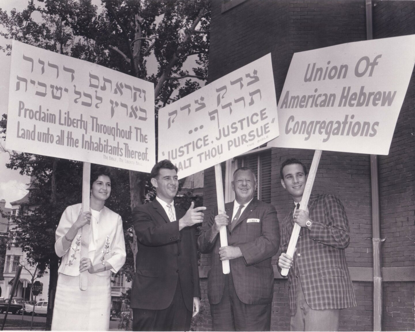 "<p>Jew­ish pro­test­ers at a&nbsp;<span class=""numbers"">1963</span> march for Black civ­il rights (via <a href=""http://blogs.rj.org/rac/files/2014/04/63-civilrt.smarch.jpg""><span class=""caps"">RJ​</span>.org</a>)</p>"