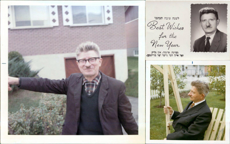 <p>Photos of Motl Siemiatycki courtesy of his son, Jack Siemiatycki.</p>