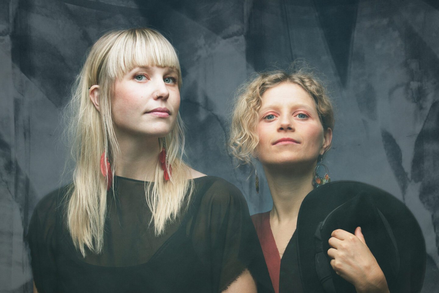 <p>Swedish duo Ida and Louise. Pho­to Cred­it: Nadim&nbsp;Elazzeh.</p>