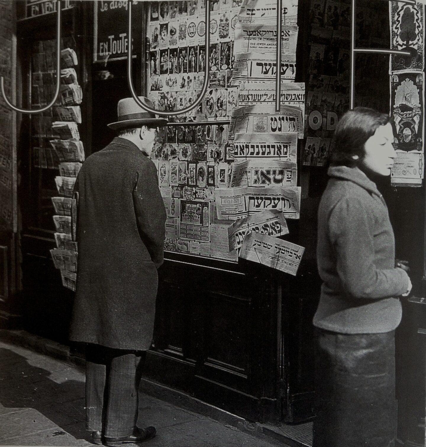 """<p>From <span class=""""push-double""""></span><span class=""""pull-double"""">""""</span>Presse et mémoire: France des étrangers, France des libertés"""" (Exhibition catalog, Génériques, <span class=""""numbers"""">1990</span>)</p>"""