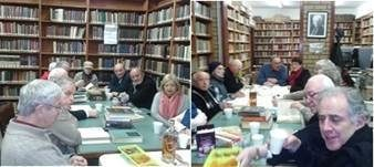 "<p>A Yiddish reading circle at the Jewish Cultural Centre and National Library '<a title=""Kadimah"" href=""http://www.kadimah.org.au/"" target=""_blank"">Kadimah</a>' in Melbourne, Australia</p>"