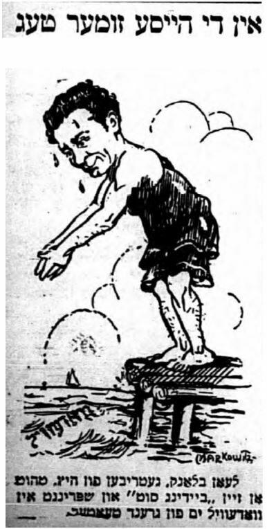 "<p>Image from <em>Der Tog, </em>July <span class=""numbers"">1</span>,&nbsp;<span class=""numbers"">1916</span>.</p>"