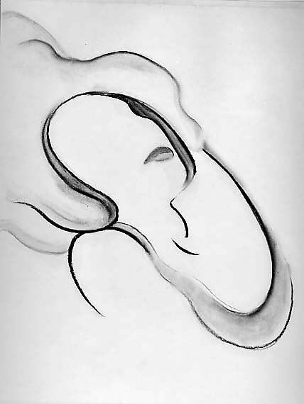 """<p>Georgia O'Keeffe. Abstraction <span class=""""caps"""">IX</span>, <span class=""""numbers"""">1916</span>. Charcoal on paper, <sup class=""""numerator""""><span class=""""numbers"""">241</span></sup>⁄<sub class=""""denominator""""><span class=""""numbers"""">4</span></sub> X&nbsp;<sup class=""""numerator""""><span class=""""numbers"""">18</span></sup>⁄<sub class=""""denominator""""><span class=""""numbers"""">4</span></sub>&nbsp;inches (<span class=""""numbers"""">61</span>.<span class=""""numbers"""">5</span> X&nbsp;<span class=""""numbers"""">47</span>.<span class=""""numbers"""">5</span>&nbsp;cm.). The Metropolitan Museum of Art, Alfred Stieglitz Collection, <span class=""""numbers"""">1969</span> (<span class=""""numbers"""">69</span>.<span class=""""numbers"""">278</span>.<span class=""""numbers"""">4</span>) </p>"""