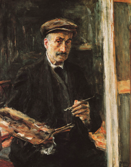 "<p>Max Liebermann,<em> Self Portrait</em>, <span class=""numbers"">1925</span></p>"