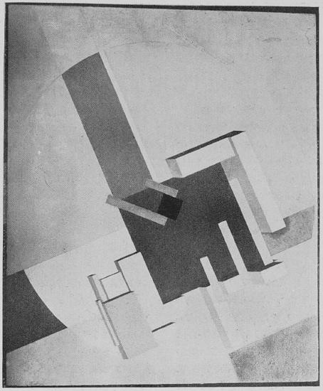 "<p>El Lissitzky, <span class=""push-double""></span><span class=""pull-double"">""</span>Construction""</p>"