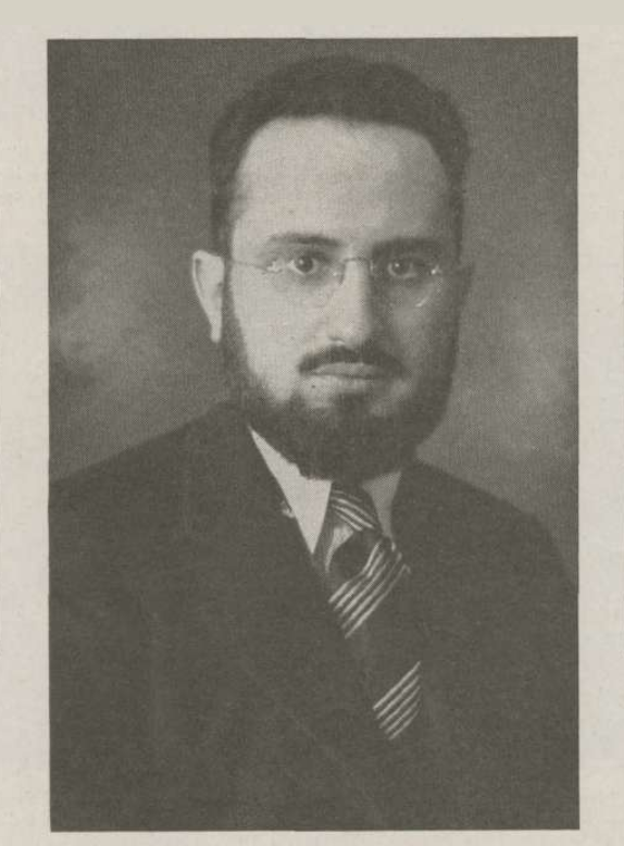 <p>Rabbi Joseph Ber Soloveitchik, image from <em>The Sentinel, </em>1944.</p>