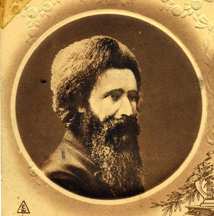 """<p>Postcard portrait of Hillel Zeitlin (<span class=""""caps"""">YIVO</span>)</p>"""