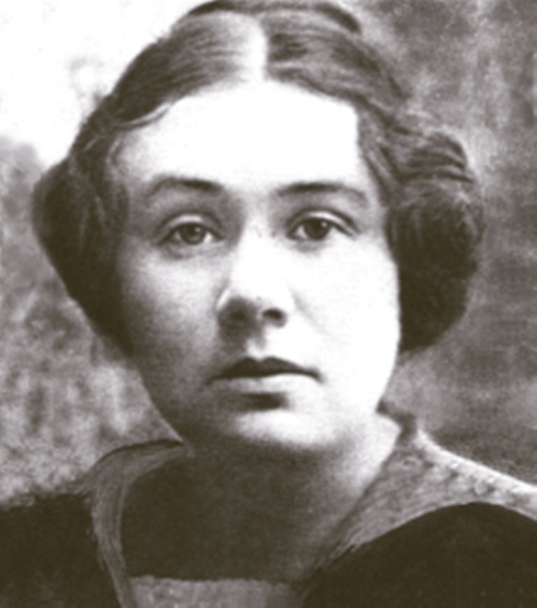 <p>Rosa Lebensboym, known by her pen name Anna Margolin. </p>