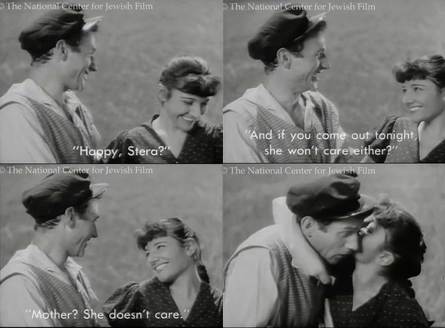 "<p>From <em><a href=""http://www.jewishfilm.org/Catalogue/films/greenfields.htm"" target=""_blank"">Grine felder</a> </em>(1937)</p>"