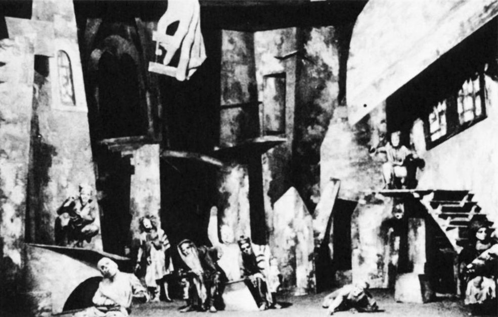 <p>The Dead Awaken: A Scene from the 1925 Moscow Granovsky Theatre production of <em>A Night in the Old Market </em>(Granovsky and Gordon&nbsp;1985).</p>