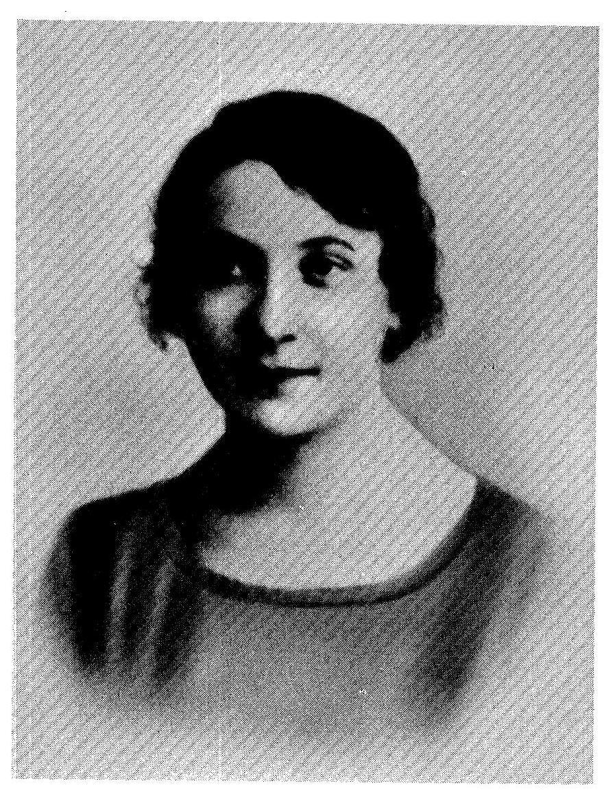 <p>Chaya Rochel Andres at 21. Taken one day before she left Suwałki for America in 1921 (from <em>Years Have Sped By</em>). </p>