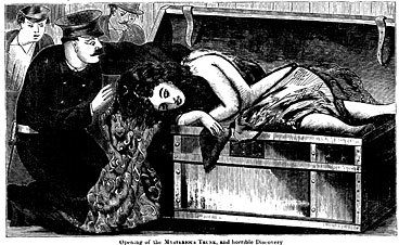"<p>A drawing of Alice Augusta Bowlsby, an abortion patient whose decomposing body was found in a trunk in the Hudson River Train depot, from an 1871 pamphlet in English called ""The Great 'Trunk Mystery' of New York City"", via <a href=""http://www.tabletmag.com/jewish-life-and-religion/13841/jewish-abortion-technician"">Tablet&nbsp;Magazine</a>.</p>"