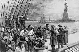 "<p>The Ellis Island immigration narrative we're used to. <a href=""http://heebmagazine.com/debunking-ellis-island-myth/53921"">via</a></p>"