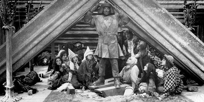 <p>A still from Wegener&#8217;s 1920 film, <em>Der Golem, wie er in die Welt&nbsp;kam</em> </p>