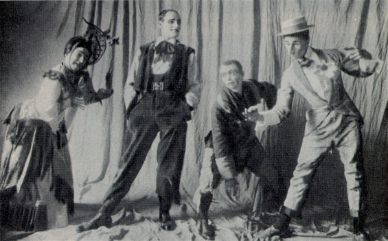 "<p>Rehearsal of Les Kurbas' production of F. Crommelynck's <em>Tripes d'Or</em> in the Berezil Theater (1926) via the <a href=""http://www.encyclopediaofukraine.com"" target=""_blank"">Internet Encyclopedia of Ukraine</a>.</p>"