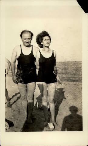 <p>Malka Heifetz Tussman and husband Shleyme, courtesy Ben&nbsp;Sadock</p>